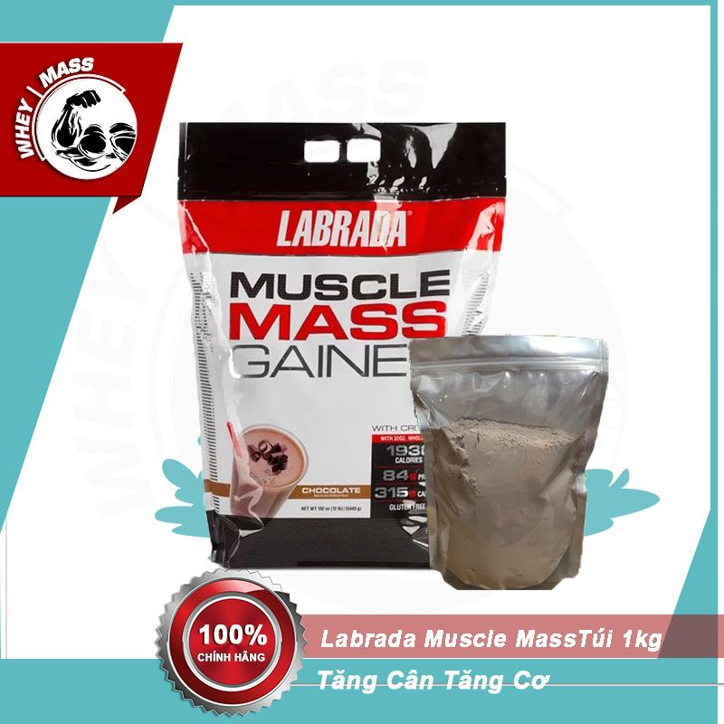Gói Dùng Thử Sữa Tăng Cân Muscle Mass Gainer 1000gram