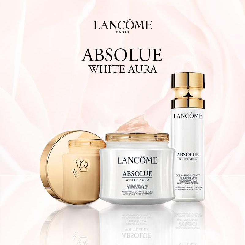 Dưỡng chất (Serum) ngăn ngừa lão hóa và giảm đốm nâu Lancôme Absolue White Aura Serum 30ml