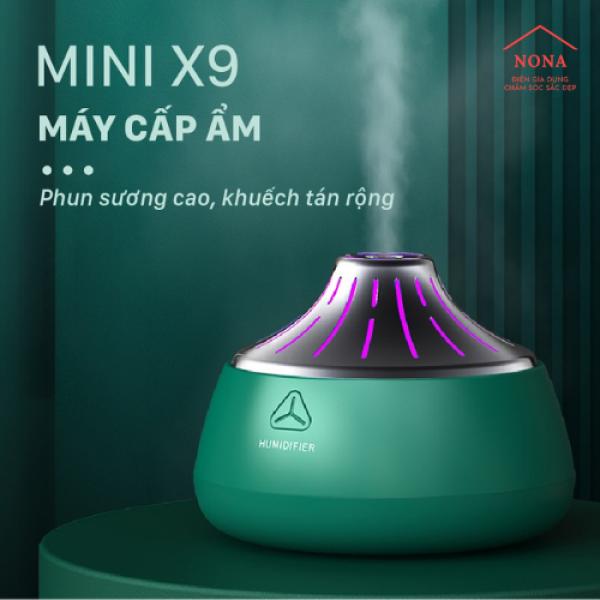 Máy cấp ẩm mini X9, máy phun sương, tinh dầu tạo độ ẩm cho ngôi nhà, máy cấp ẩm nội địa Trung Quốc