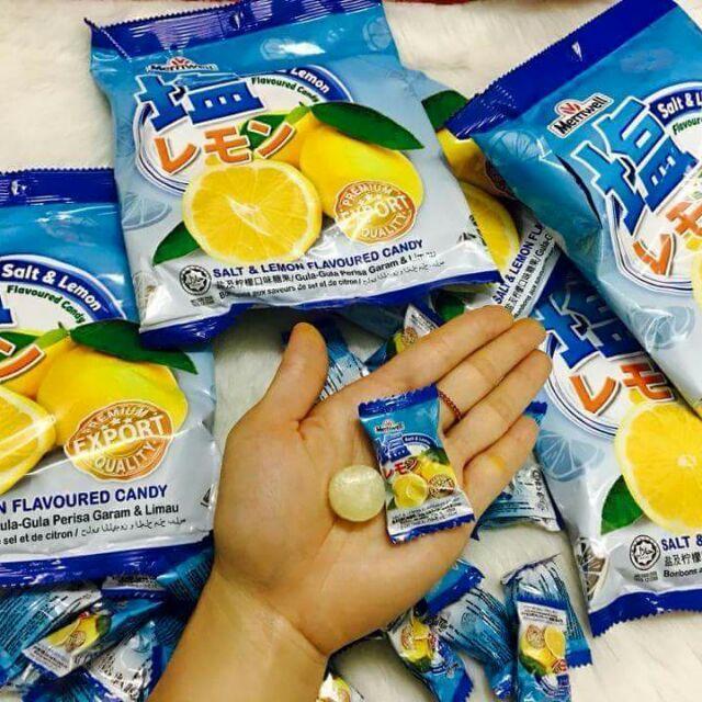 KẸO CHANH MUỐI MALAYSIA SALT & LEMON CANDY 150G