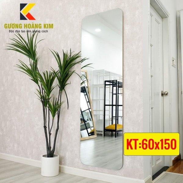 Gương soi toàn thân cao cấp treo tường kích thước 60x150 cm - guonghoangkim - Mirror