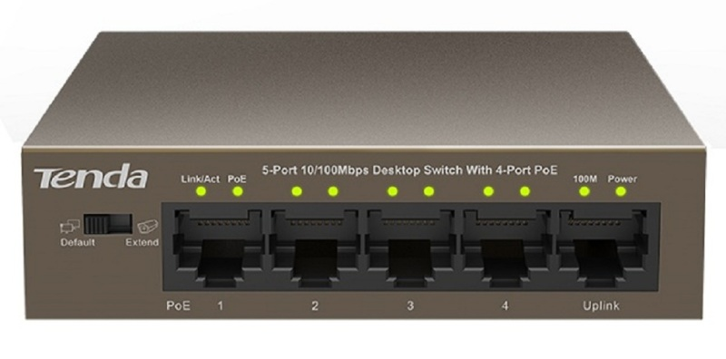 Bảng giá Switch TENDA TEF1105P 5-port 10100Mbps + 4-port PoE Phong Vũ