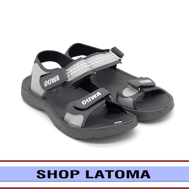 Giày Sandal nam nữ, giày xăng đan có quai hậu, học sinh sinh viên mang đều phù hợp và độc đáo vận động du lịch thoải mái kiểu dáng cổ điển thời trang cao cấp Latoma TA4812 (Xám) giá rẻ