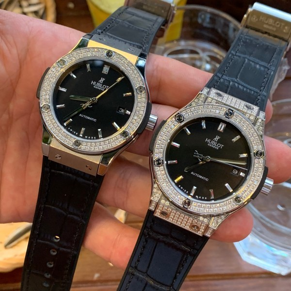 Đồng hồ HL nam đính đá máy cơ dong ho nam HL [FULLBOX] 42mm đồng hồ nam bản cao cấp–BẢO HÀNH 36 THÁNG