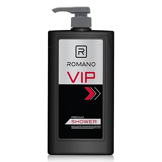 Sữa tắm cao cấp Romano Vip Vision sang trọng cuốn hút 650g