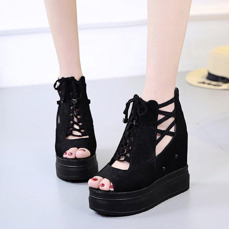 Giày sandal đế xuồng S115D