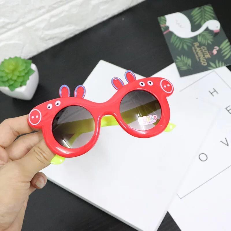 Giá bán Kính mắt Peppa thời trang cho bé trai và bé gái - Mắt Kính Heo Peppa Cho Bé Nhiều Màu - Mắt kính đi nắng cho bé - GIA DỤNG VIỆT NAM