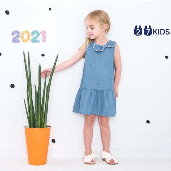 Giá bán Váy bé gái 27Kids Petite Mieux – đầm nữ mùa hè từ cho trẻ 2-8 Tuổi D3A01
