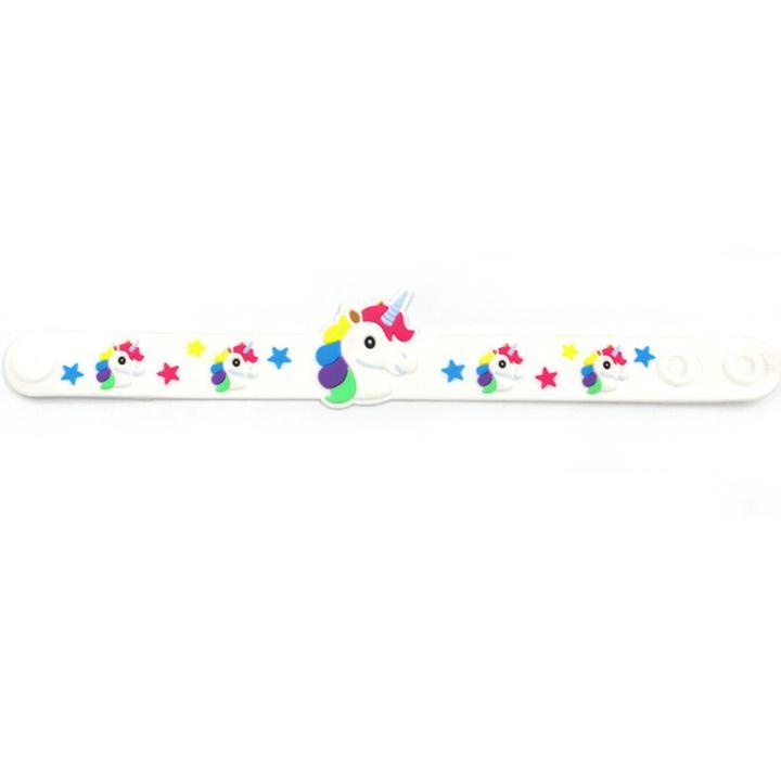 Giá bán Vòng tay Unicorn hottrend cho bé gái bằng nhựa mềm đủ màu sắc BBShine – J045