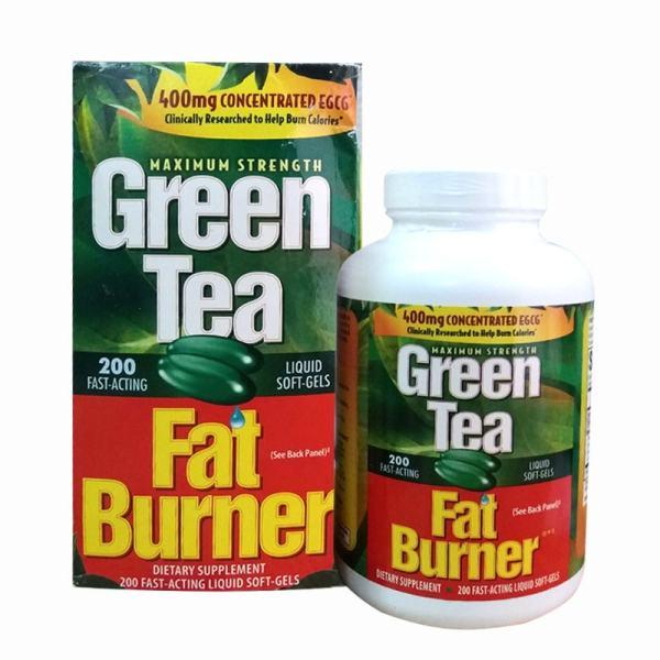 (Chính Hãng)Viên Uống Giảm Mỡ Trà Xanh Green Tea Fat Burner 400mg Chính Hãng USA Mỹ