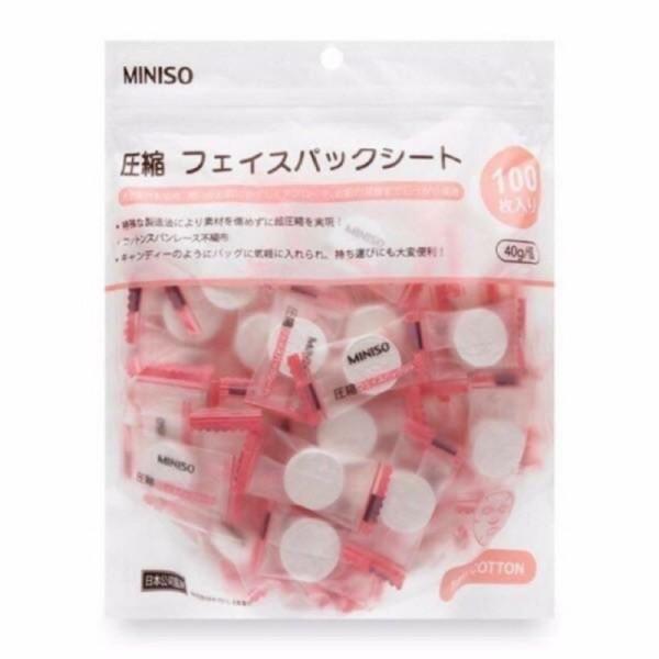 Mặt Nạ Giấy Nén Miniso Nhật Bản lẻ 1 viên giá rẻ
