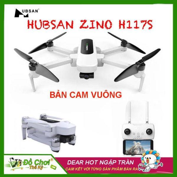 [ COMBO 2 PIN ] Máy bay Flycam Hubsan  Zino H117S ( BẢN CAM VUÔNG ), GPS 5.8G, Gimbal 3 Trục, Camera 4K, FPV 1 KM, Thời gian bay lên đến 23 phút
