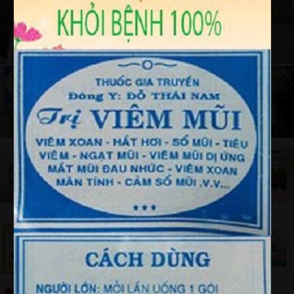 50 gói viêm mũi bột Đỗ Thái Nam cao cấp