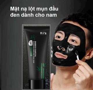 Mặt nạ lột Mụn Than Tre Charcoal dành cho nam Hút sạch mụn cám, mụn đầu đen. Thải độc chì- Sáng da