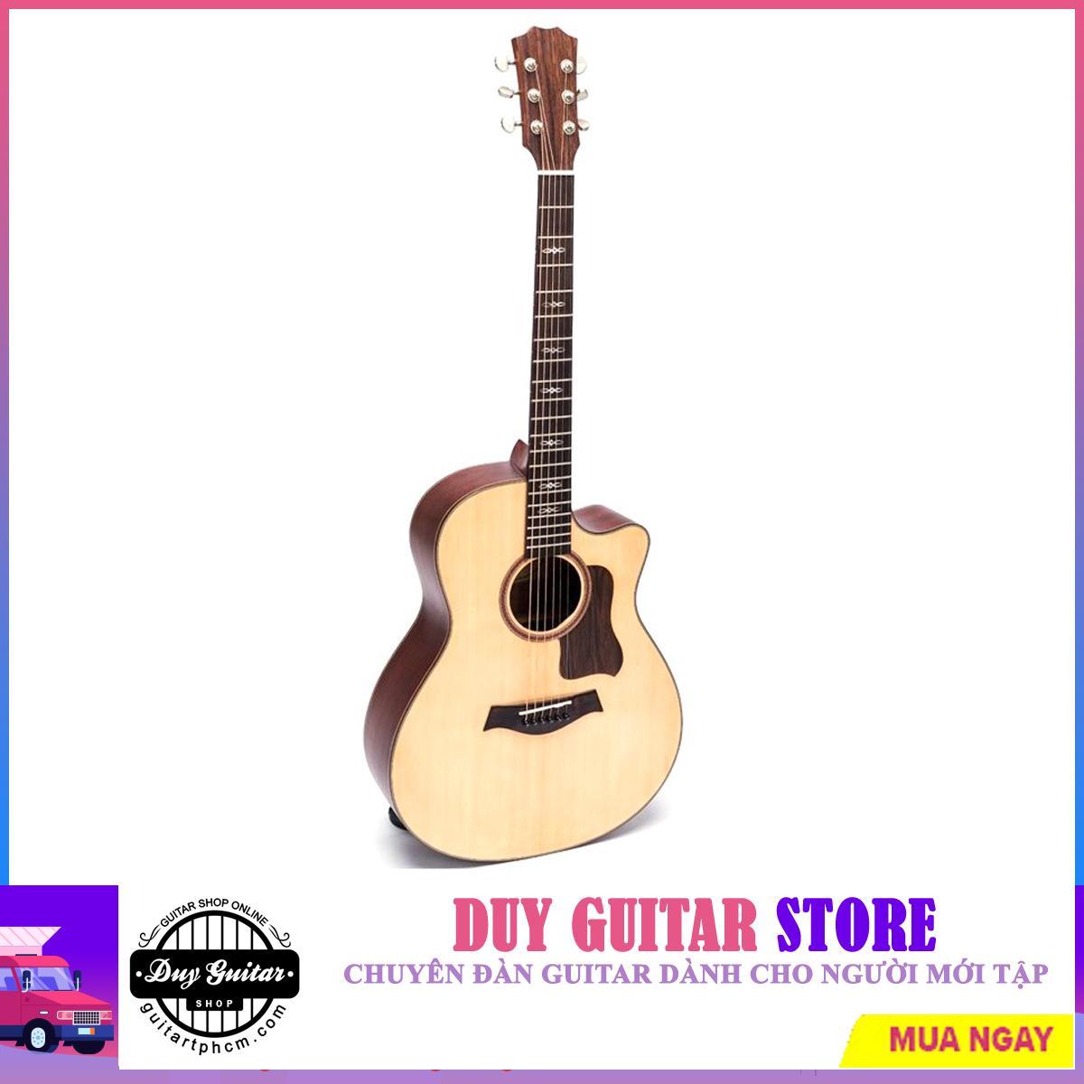 Đàn Guitar Acoustic DT420 cẩn note - Duy Guitar Store