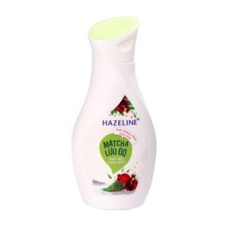 [Lấy mã giảm thêm 30%]Sữa dưỡng thể dưỡng trắng Hazeline Matcha Lựu đỏ 140ml thumbnail