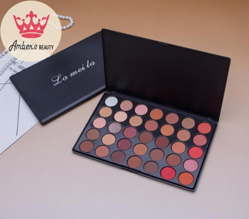 Bảng Màu Mắt Phấn Mắt 35 Màu Cho Makeup Chuyên Nghiệp Lameila Nội Địa L0114 nhập khẩu