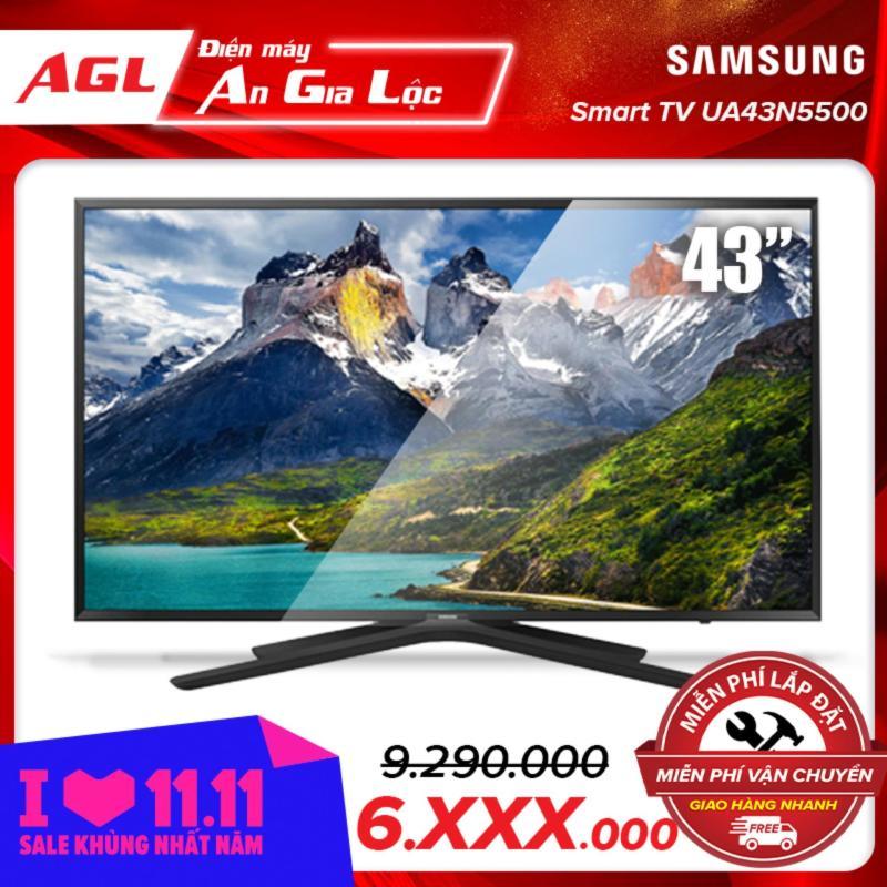 Tivi Samsung 43 inch UA43N5500 chính hãng