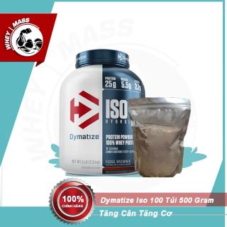 Gói Dùng Thử Sữa Bột Whey Tăng Cân Tăng Cơ Dymatize Iso 100 500gram thumbnail