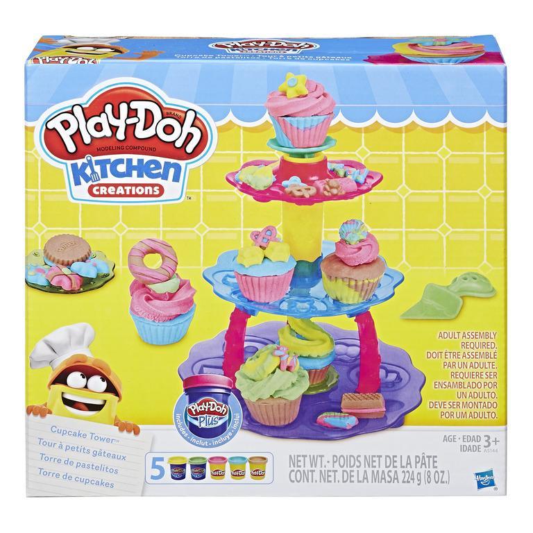 Đồ Chơi đất Nặn Tháp Cupcake Play-Doh Khuyến Mãi Sốc