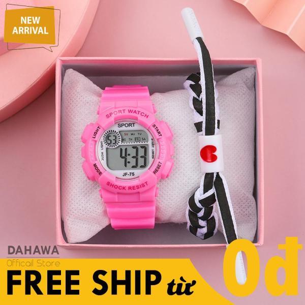 Nơi bán Đồng Hồ Điện Tử Unisex Sport Watch S84, Lịch Vạn Niên Đa Chức Năng, Đèn Led 7 Màu, Dây Silicon Siêu Bền Bỉ, Phong Cách Hàn Quốc, 6 Màu Lựa Chọn  (Bảo Hành 6 Tháng)
