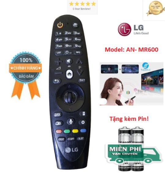 Bảng giá Remote Remote Điều khiển tivi LG 2015 giọng nói MR600 dùng cho các dòng tivi LG 2015- Hàng chính hãng LG- ALEX - TẶNG KÈM PIN
