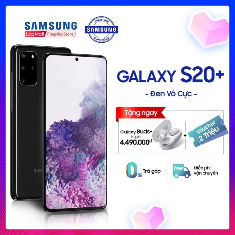 [ĐẶT TRƯỚC RƯỚC QUÀ] - Điện thoại Samsung Galaxy S20 PLUS 128GB/RAM 8GB- Tặng: Tai nghe new galaxy bud trị giá 4.490k + Voucher 1.5TR đồng - Trả góp 0% -