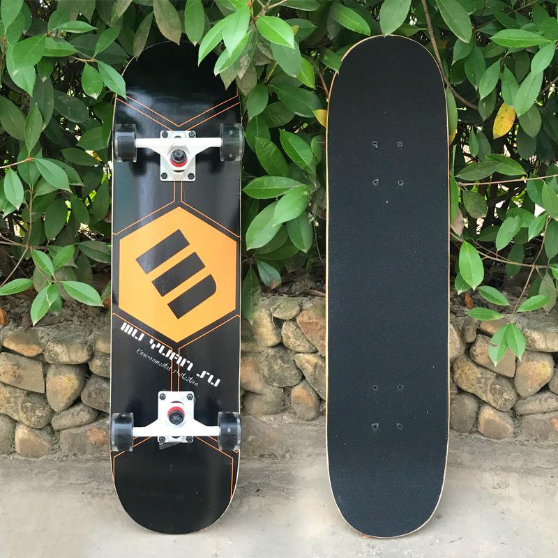 Ván trượt skateboard thể thao chất liệu gỗ phong ép cao cấp 8 lớp mặt nhám 11