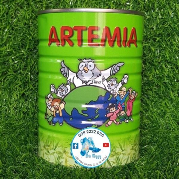[HCM]Artemia Mỹ | Hiệu Cú Xanh INVE - Thức Ăn Cho Cá Cảnh - 25gram - 75%