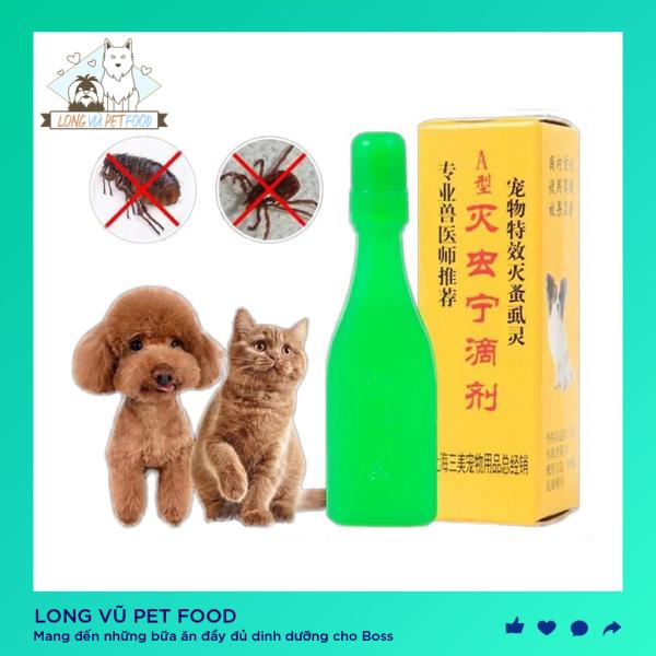 Nhỏ gáy đài chó mèo cực tốt - Long Vũ Pet Food