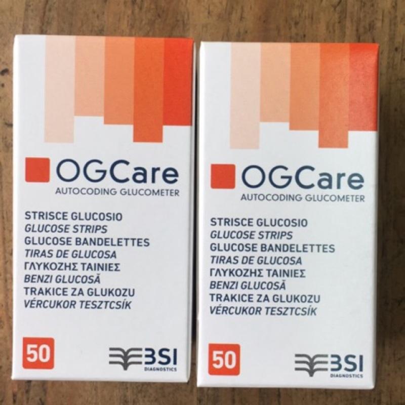 [ Chính Hãng ] Que Thử Đường Huyết OG Care - 50 Que/ Hộp
