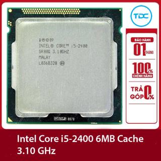 Bộ vi xư ly Intel CPU Core i5 2400 3.40GHz ,95w 4 lõi 4 luồng, 6MB Cache Socket Intel LGA 1155 thumbnail
