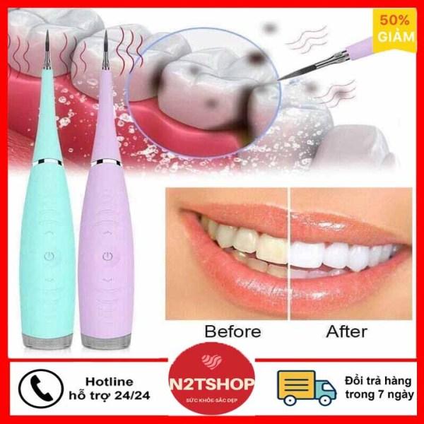 Máy lấy cao răng cầm tay, máy lấy cao răng mini sạc điện - Máy lấy cao răng tại nhà tiện lợi hơn máy lấy cao răng siêu âm, máy lấy cao răng tại nhà giá rẻ