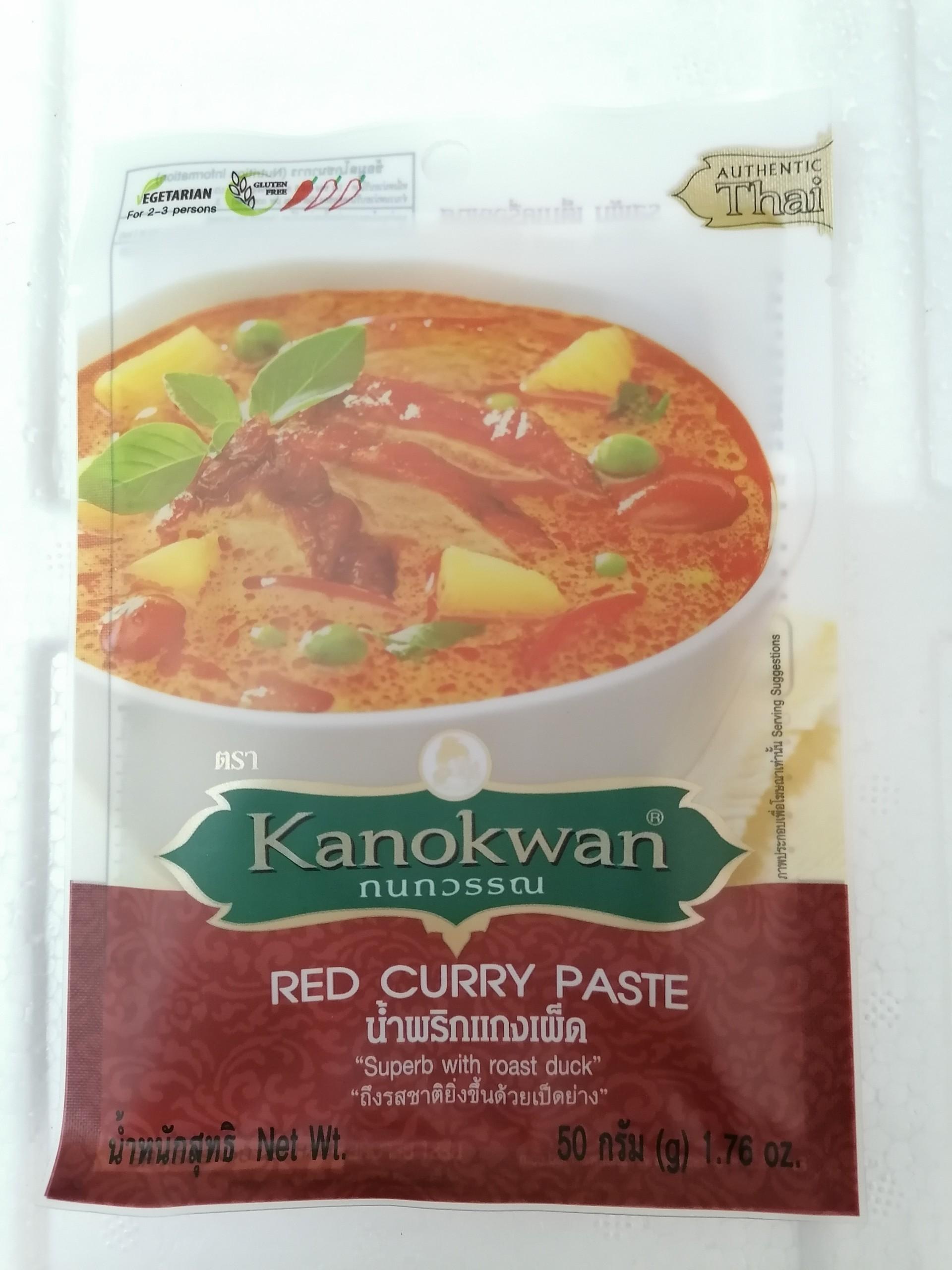 [HCM]Cà ri đỏ 50g Kanokwan [Date 2/9/2022]
