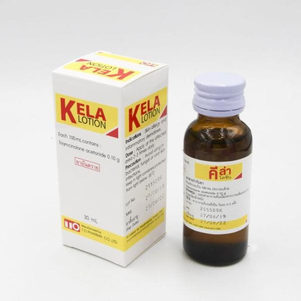 Serum Kela lotion 30ml- VIÊM LỖ CHÂN LÔNG THÁI LAN