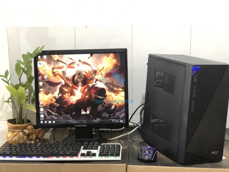 PC chơi game A6 5400k 3.6Ghz/ Ram 8G/ Vga 4G/ Hdd 250G/ Case nguồn/ phím chuột LED (như hình) Nhật Bản