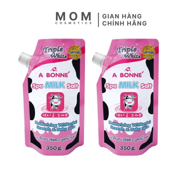 Muối Tắm tẩy tế bào chết A BONNÉ Spa Milk Salt 350g nội địa Thái Lan giá rẻ