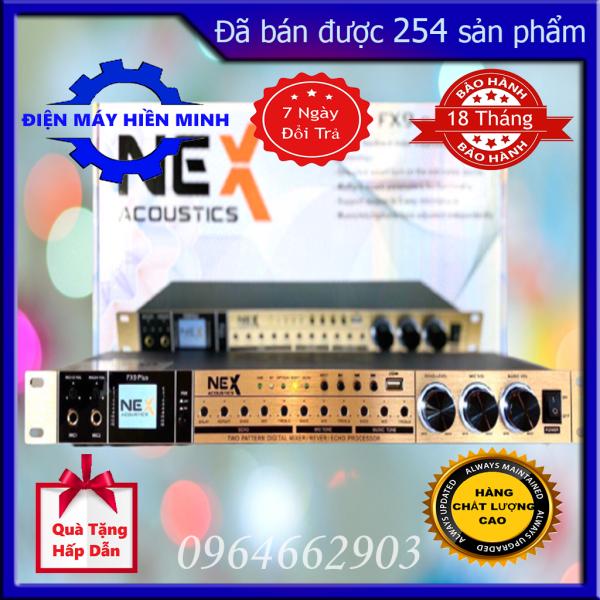 Vang Cơ NEX FX9 PLUS Karaoke Chuyên Nghiệp Âm Thanh Đỉnh Cao, Kết Nối Bluetoth, Màn Hình Hiện Thi Logo, Giao Diện Nhạc, Tích Hợp Mạch Chống Hú Tự Động - Chức Năng Nâng Tiếng (EXCITER) Điện Máy Hiền Minh
