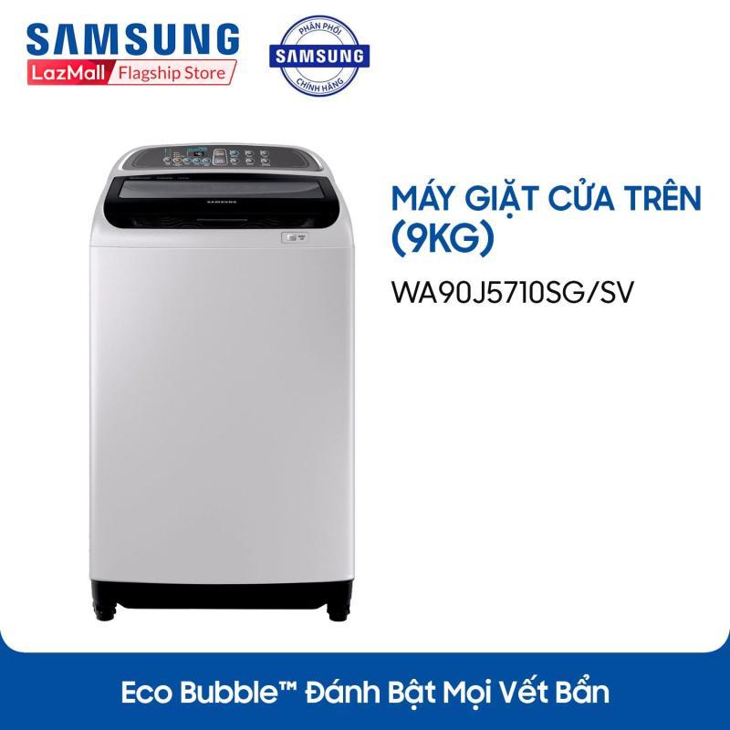 Bảng giá Máy giặt cửa trên Samsung WA90J5710SG/SV 9Kg (Xám, đen) Điện máy Pico