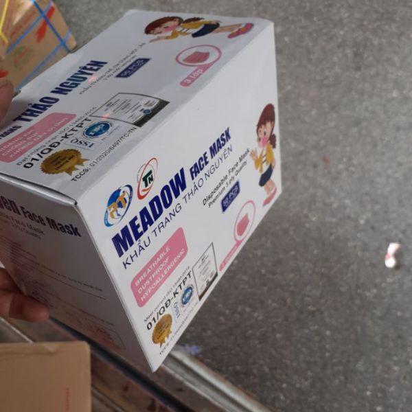 ktyt cho bé hộp 50c . 1 hộp chia 5 túi mỗi túi 10c