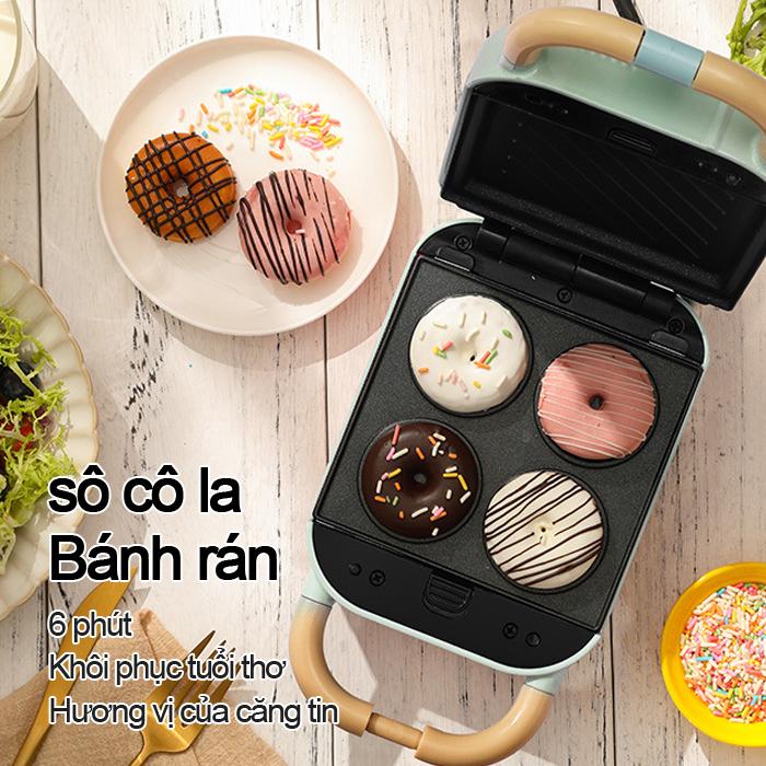[Giá rẻ toàn cầu]Máy nướng bánh mì mini YS-510S đa chức năng, máy nướng bánh mì sandwich, máy làm bánh mì sandwich thiết kế dễ dàng, vỉ nướng thiết kế chống dính, nướng siêu n[bảo hành Trao đổi 1-1]
