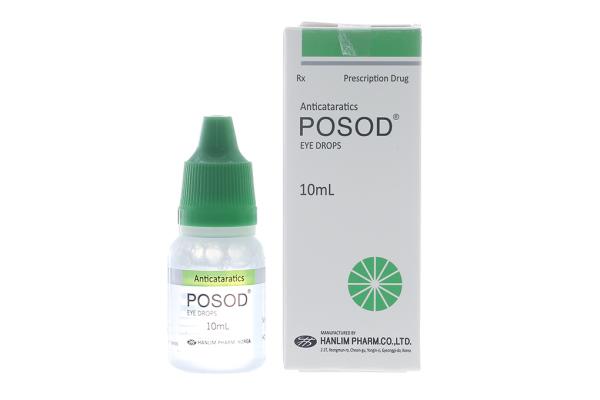Dung dịch nhỏ mắt Posod chai 10ml
