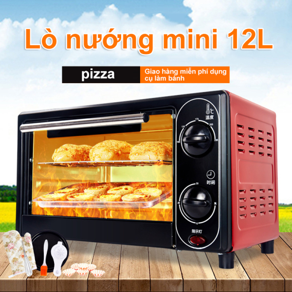 Bảng giá 【like-】Lò nướng điện 12L đa chức năng, nướng mini hộ gia đình, lò nướng nhỏ, hẹn giờ kiểm soát nhiệt độ, lò nướng Điện máy Pico