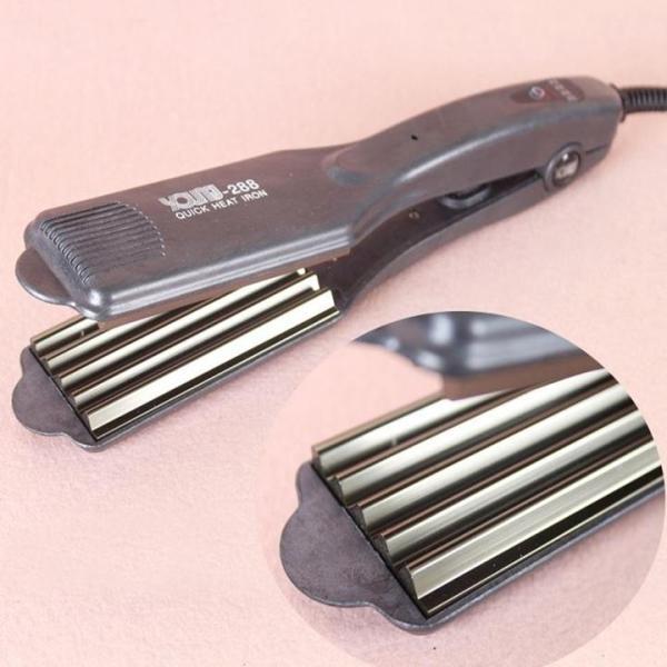 Máy bấm xù 5 răng chỉnh nhiệt - máy dập xù tóc 5 răng cao cấp - TM068