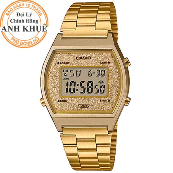 Đồng hồ nữ dây kim loại Casio Anh Khuê B640WGG-9DF