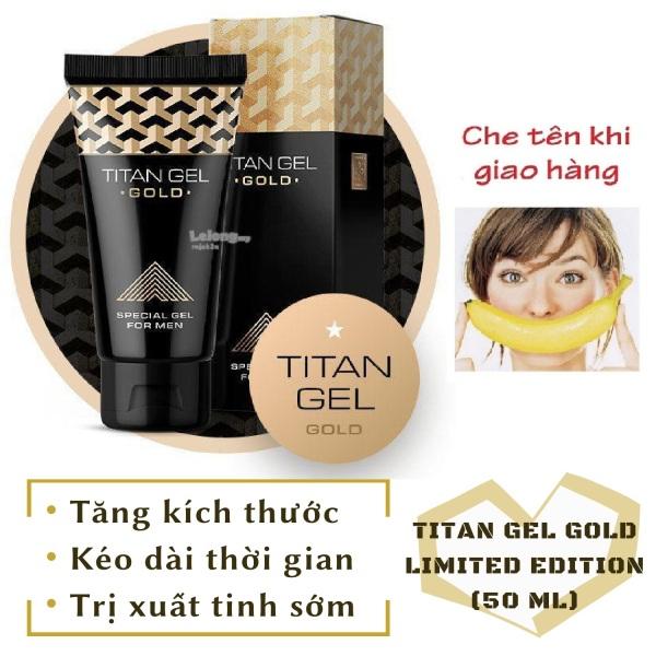 [Lô mới nhất] Gel Titan Nga GOLD cao cấp phiên bản giới hạn (50ml) nhập khẩu