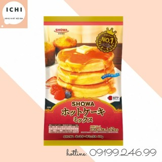 Bột Làm Bánh Hotcake Mix Showa 600G (Date 3.9.2021) thumbnail