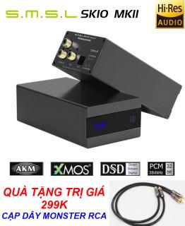 SMSL Sanskrit 10th MKII HiFi Digital USB DAC Decoder AK4493 - Bộ Giải Mã Âm Thanh DAC S.M.S.L Sanskrit MKII Phiên Bản Giới Hạn Kỷ Niệm 10 Năm Thành Lập Chipset Xử Lý AK4493 PCM 32Bit 768kHz Hỗ Trợ Nghe Nhạc DSD512 Qua Cổng USB thumbnail