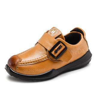 Giày da trẻ em tiểu học, giày da thật trẻ em trung học, giày lười trẻ em phiên bản Hàn Quốc Mã 10068 thumbnail