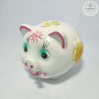 Lợn đất tiết kiệm đựng tiền size NHỎ cute đẹp giá rẻ TABILINE LD01 8